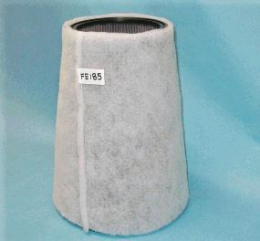 FE-185- Detroit 16V92 Dual Turbo and 60 series, size - 10″ Base Diameter x  14″ Tall Cone Shaped